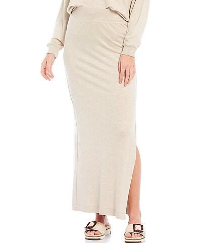 Splendid Glimpse Coordinating Pull-On Maxi Skirt