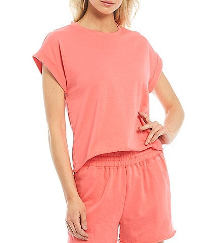 Splendid Knit Eco Crew Neck Short Sleeve T-Shirt