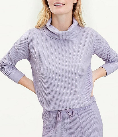 Splendid Knit Firestone Cowl Neck Sweatshirt