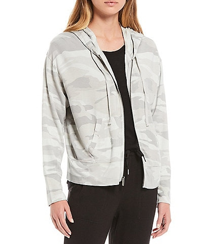 Splendid Knit Lena Camo Jacket