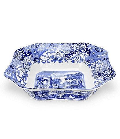 Spode Blue Italian Square Serving Bowl