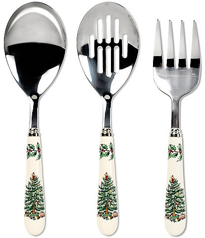 Spode Christmas Tree 3-Piece Cutlery Set