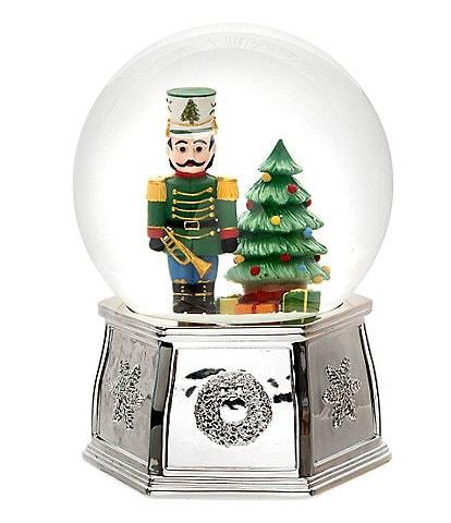 Spode Christmas Tree Nutcracker Snow Globe