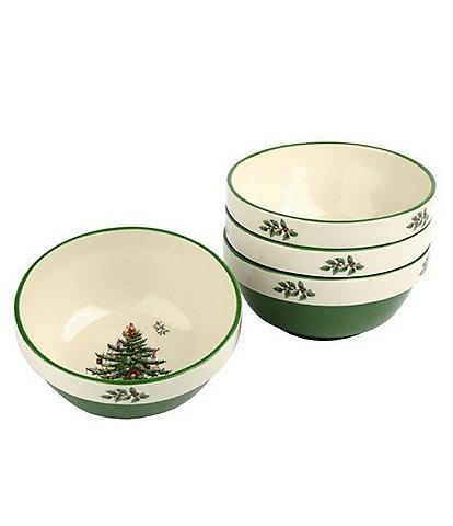 Spode Christmas Tree Stacking Bowl Set