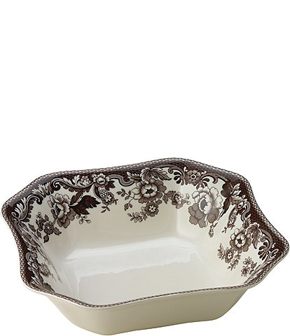 Spode Festive Fall Collection Delamere Square Serving Bowl