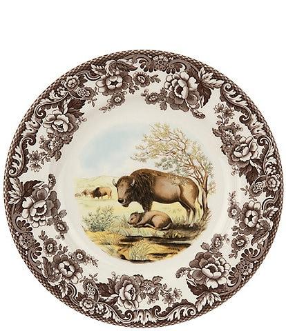 Spode Woodland Bison Dinner Plate