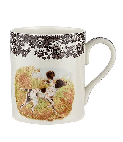 Spode Festive Fall Collection Woodland Hunting Dogs Pointer Mug