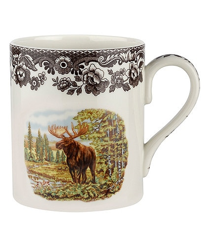 Spode Festive Fall Collection Woodland Majestic Moose Mug
