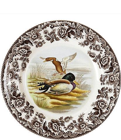 Spode Festive Fall Collection Woodland Mallard Salad Plate