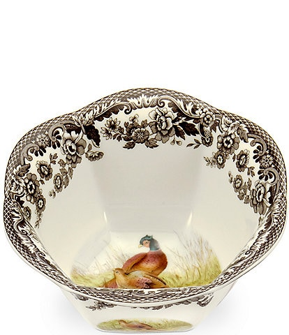 Spode Festive Fall Collection Woodland Pheasant Nut Bowl
