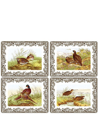 Spode Festive Fall Collection Woodland Pimpernel Spode Placemats, Set of 4
