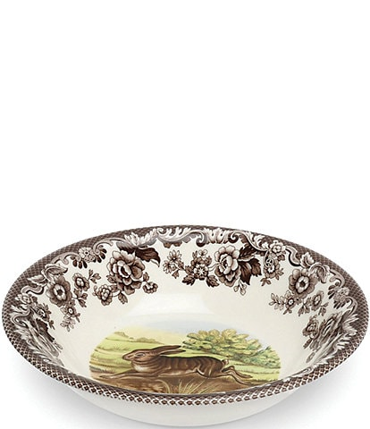 Spode Festive Fall Collection Woodland Rabbit Ascot Cereal Bowl