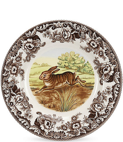 Spode Festive Fall Collection Woodland Rabbit Dinner Plate