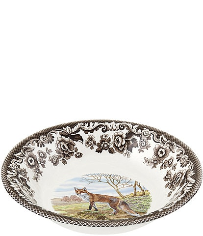 Spode Festive Fall Collection Woodland Red Fox Ascot Cereal Bowl