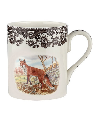Spode Festive Fall Collection Woodland Red Fox Mug