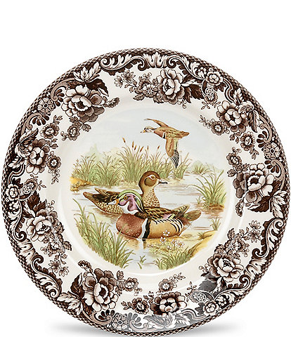 Spode Festive Fall Collection Woodland Wood Duck Salad Plate
