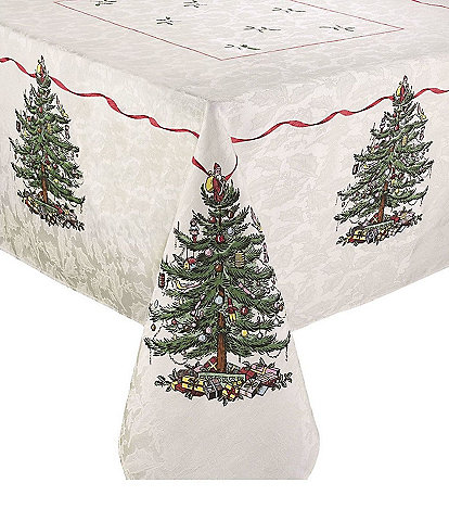 Spode Holiday Collection Christmas Tree Tablecloth
