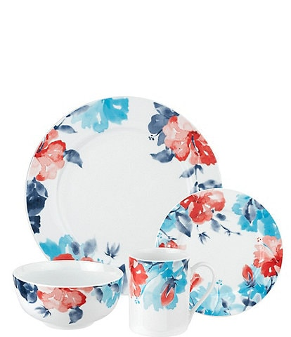 Spode Home Floral Breeze 16-Piece Dinnerware Set
