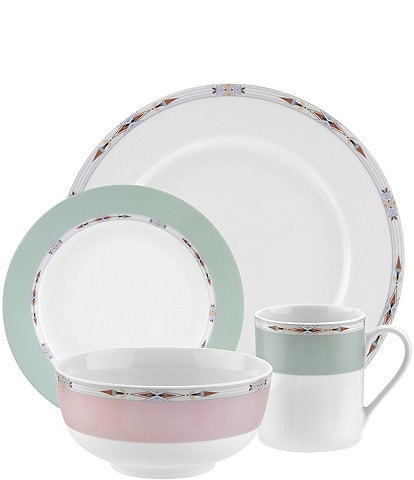 Spode Home Formal Deco 16-Piece Dinnerware Set