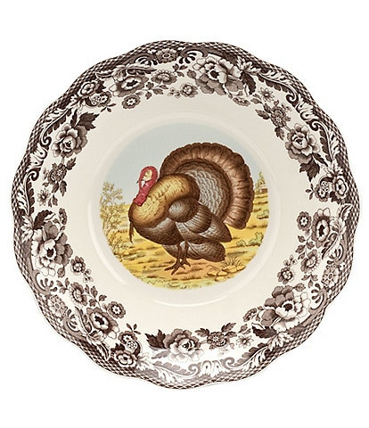 Spode Woodland Daisey Turkey Bowl