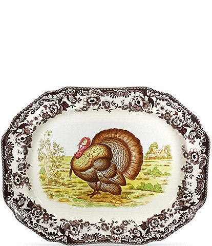 Spode Woodland Turkey Platter
