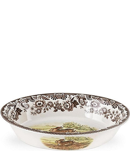 Spode Festive Fall Collection Woodland Oval Baking Dish