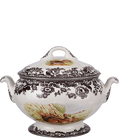 Spode Festive Fall Collection Woodland Soup Tureen