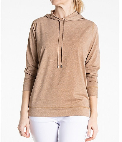 Sport Haley Ballet Long Sleeve Melange Hooded Pullover