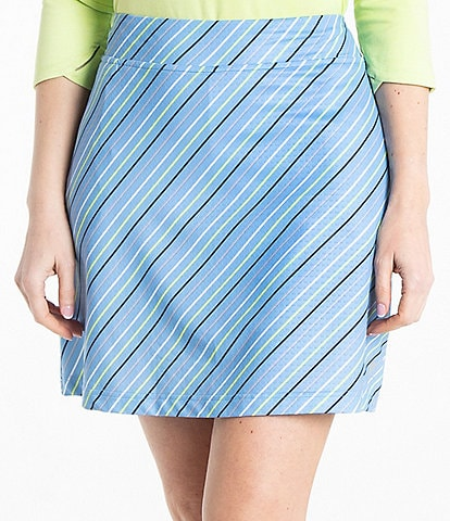 Bette & Court Breeze Pull-On Print Skirt