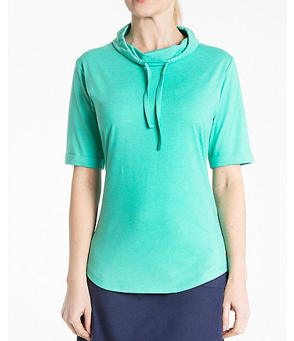 Bette & Court Pinnacle Cowl Neck Pullover