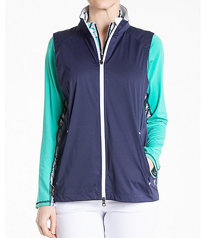 Bette & Court Tempest Waterproof Zip Front Vest