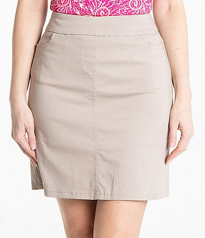 Sport Haley Slimsation Pull-On Solid Skort