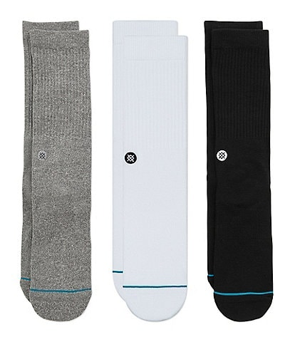 Stance Icon Crew Socks 3-Pack