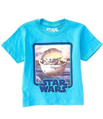 Star Wars Little Boys 2T-7 Short-Sleeve Baby Yoda Graphic Tee