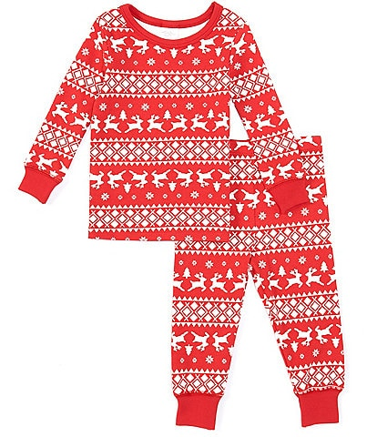 Starting Out Baby 12-24 Months Christmas Fair Isle 2-Piece Pajamas Set