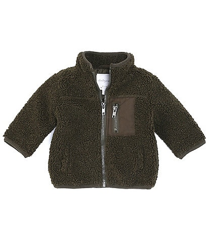 Starting Out Baby Boys -24 Months Faux-Sherpa Coat