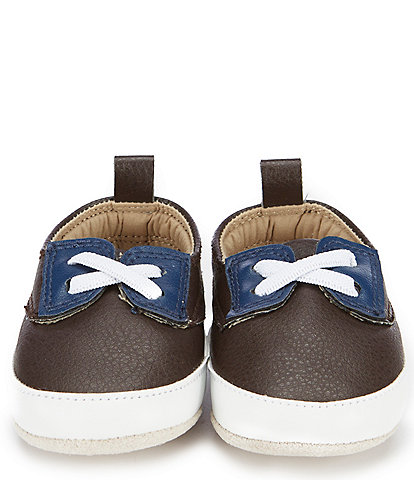 Starting Out Baby Boys' 3-12 Months Summer Fisherman Loafer Crib Shoes