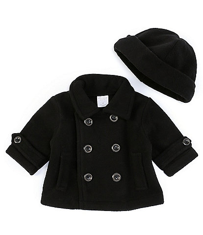 Starting Out Baby Boys 3-24 Months Peacoat and Hat Set