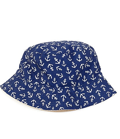 Starting Out Baby Boys Anchor Bucket Hat