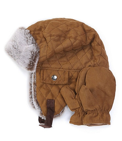 Starting Out Baby Boys Faux-Sherpa Woods Hat