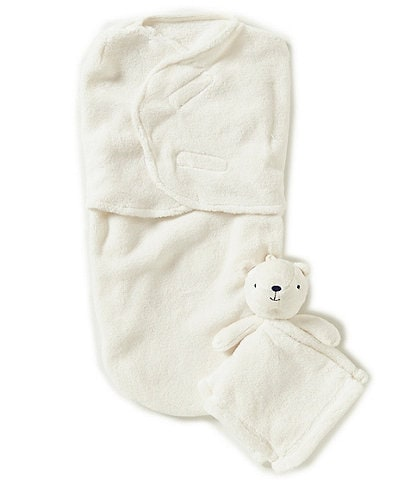 Starting Out Baby Fleece Swaddle & Blanket Buddy Set
