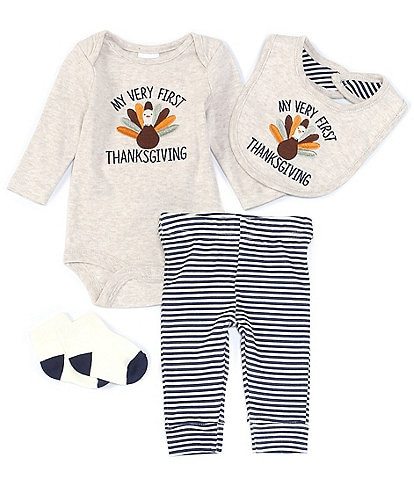 Starting Out Baby Newborn-9 Months My Very First Thanksgiving Layette Set