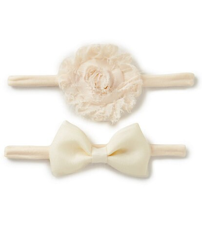 Starting Out Baby Girls 2-Pack Headband Set