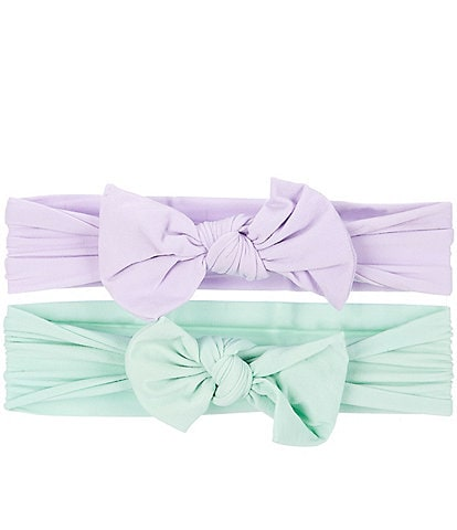 Starting Out Baby Girls 2-Pack Knot Bows Headwrap