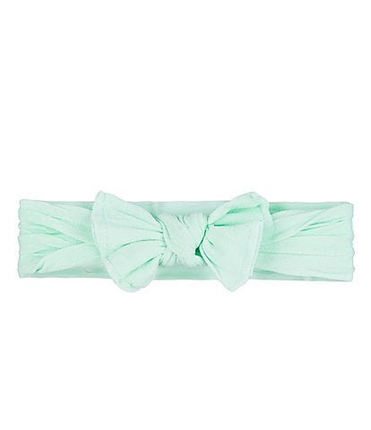 Starting Out Baby Girls Knot Bow Headwrap