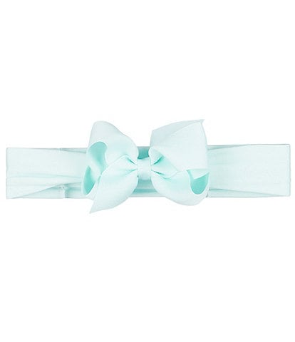 Starting Out Baby Girls Small Satin Bow