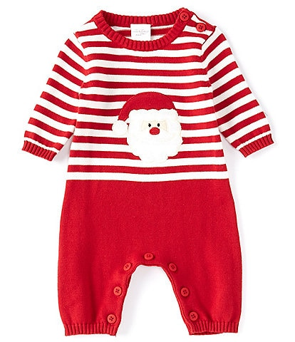Starting Out Baby Newborn-24 Months Santa Stripe/Solid Coverall