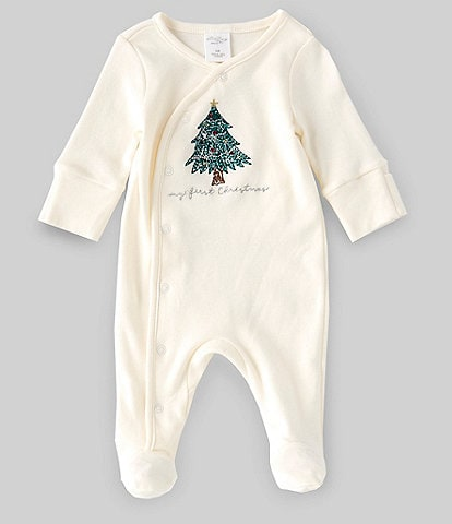 Starting Out Baby Newborn-9 Months Long-Sleeve My 1st Christmas Coverall