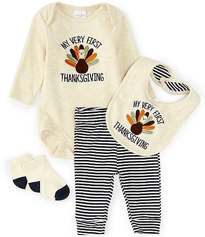 Starting Out Baby Newborn-9 Months My First Thanksgiving Layette Set