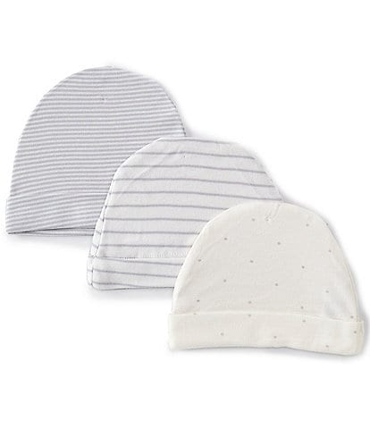 Starting Out Baby Star/Stripe 3-Pack Beanies